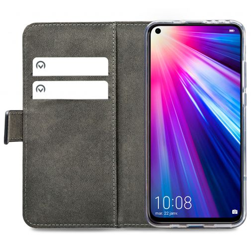 Mobilize Classic Gelly Wallet Book Case Black Honor View 20