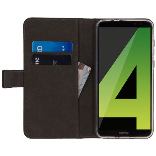 Mobilize Classic Gelly Wallet Book Case Black Huawei Mate 10 Lite