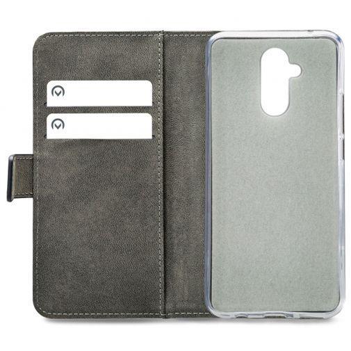 Productafbeelding van de Mobilize Classic Gelly Wallet Book Case Black Huawei Mate 20 Lite