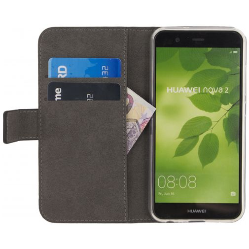 Mobilize Classic Gelly Wallet Book Case Black Huawei Nova 2