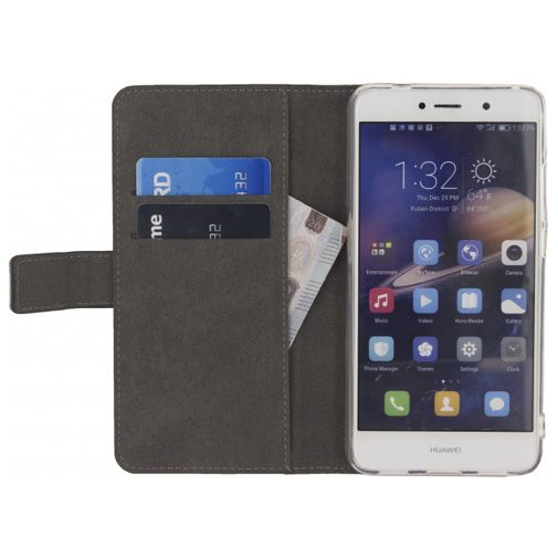 Mobilize Classic Gelly Wallet Book Case Black Huawei Y7