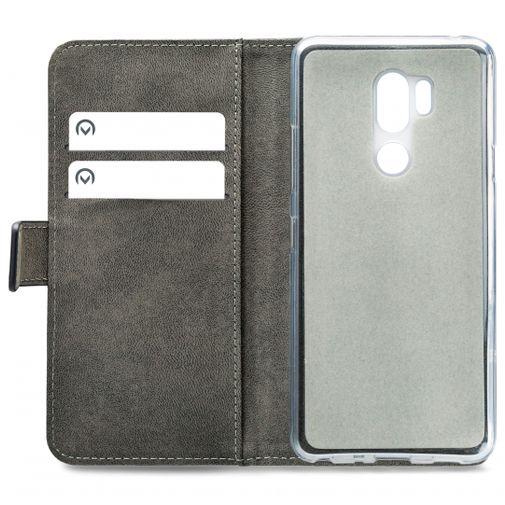 Productafbeelding van de Mobilize Classic Gelly Wallet Book Case Black LG G7 ThinQ