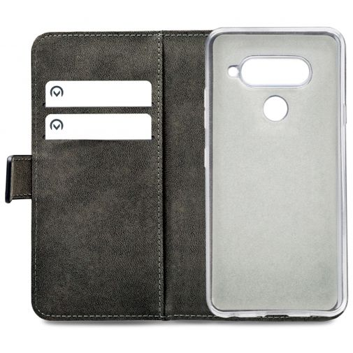 Mobilize Classic Gelly Wallet Book Case Black LG V40 ThinQ