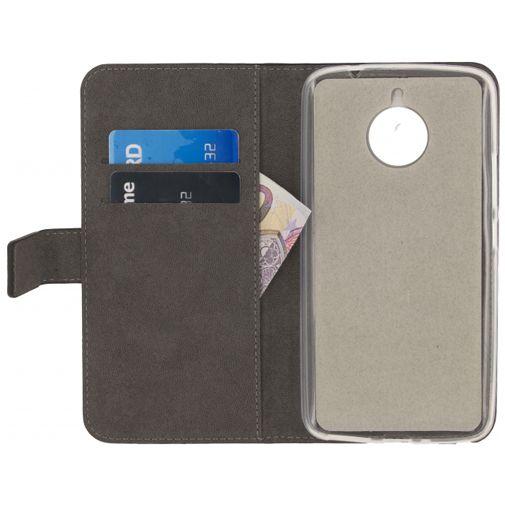 Mobilize Classic Gelly Wallet Book Case Black Motorola Moto E4 Plus