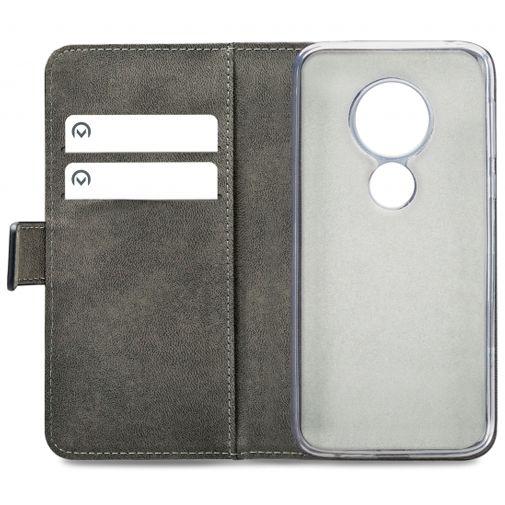 Productafbeelding van de Mobilize Classic Gelly Wallet Book Case Black Motorola Moto G7 Play