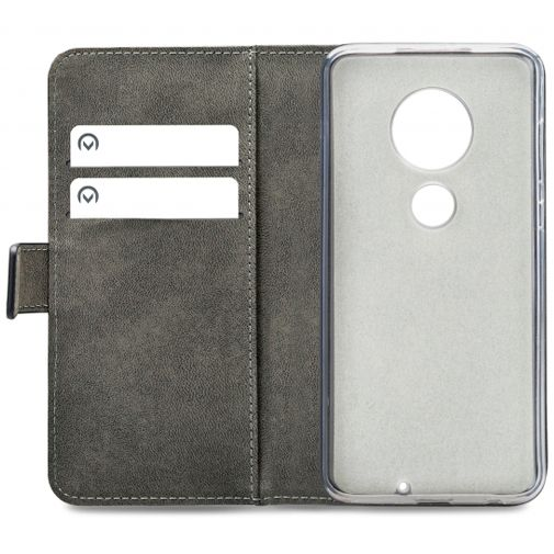 Productafbeelding van de Mobilize Classic Gelly Wallet Book Case Black Motorola Moto G7/G7 Plus