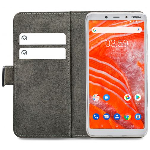 Productafbeelding van de Mobilize Classic Gelly Wallet Book Case Black Nokia 3.1 Plus