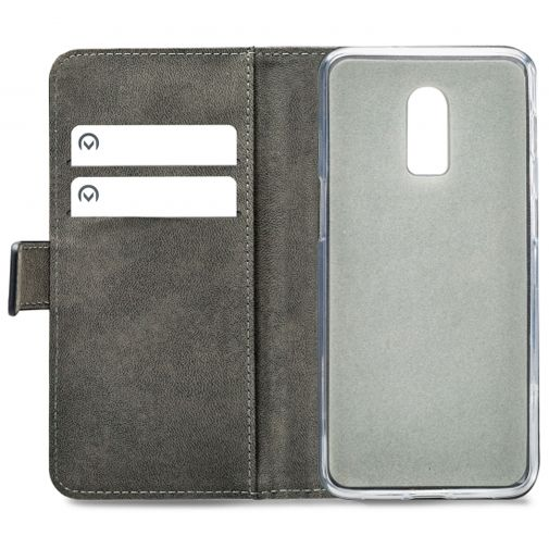 Productafbeelding van de Mobilize Classic Gelly Wallet Book Case Black OnePlus 6T