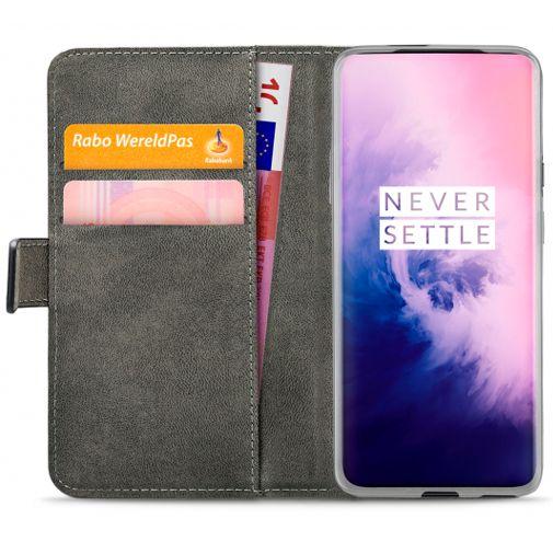 Productafbeelding van de Mobilize Classic Gelly Wallet Book Case Black OnePlus 7 Pro