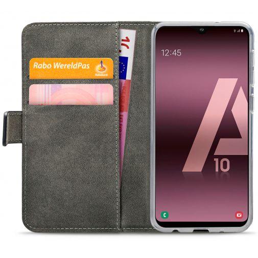 Productafbeelding van de Mobilize Classic Gelly Wallet Book Case Black Samsung Galaxy A10