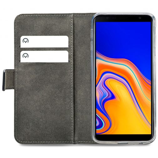Productafbeelding van de Mobilize Classic Gelly Wallet Book Case Black Samsung Galaxy J4+