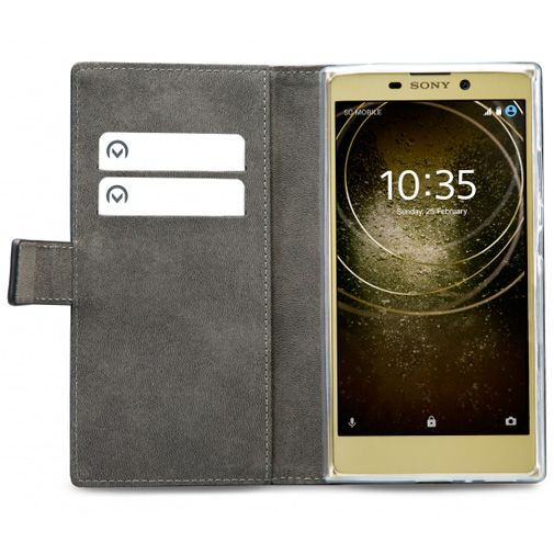 Mobilize Classic Gelly Wallet Book Case Black Sony Xperia L2