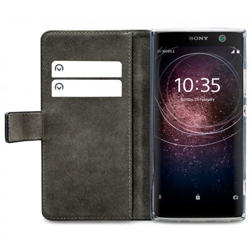 Mobilize Classic Gelly Wallet Book Case Black Sony Xperia XA2