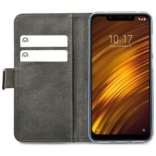 Mobilize Classic Gelly Wallet Book Case Black Xiaomi Pocophone F1
