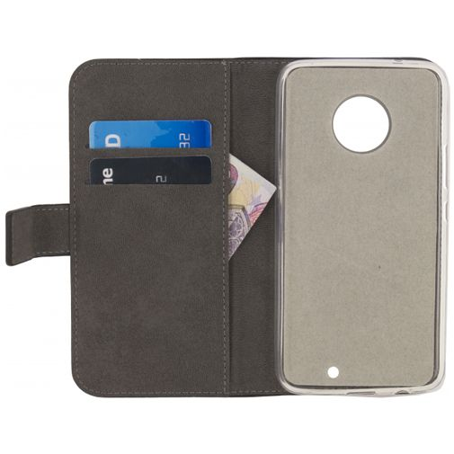 Mobilize Classic Gelly Wallet Book Case Black Motorola Moto X4