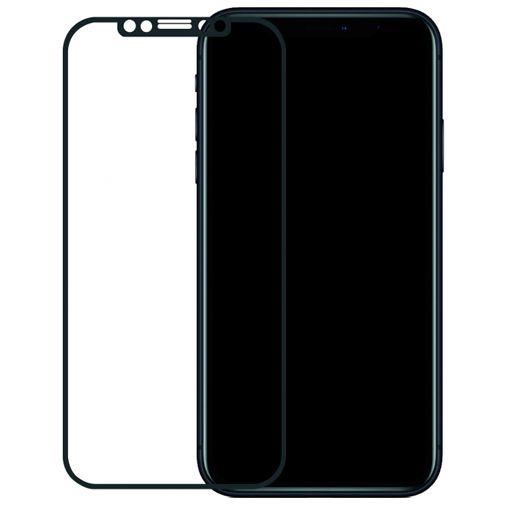 Productafbeelding van de Mobilize Edge-To-Edge Glass Screenprotector Black Apple iPhone XR/11