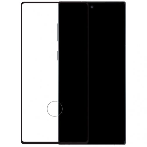 Productafbeelding van de Mobilize Edge-To-Edge Glass Screenprotector Black Samsung Galaxy Note 10+