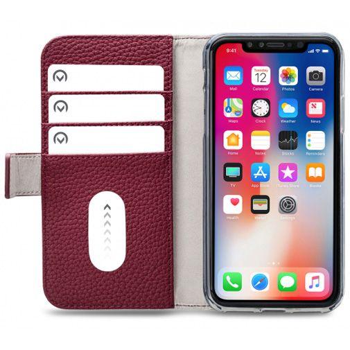 Mobilize Elite Gelly Wallet Book Case Burgundy Apple iPhone XR