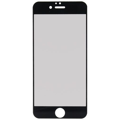 Productafbeelding van de Mobilize Full Coverage Safety Glass Screenprotector Black Apple iPhone 6/6S