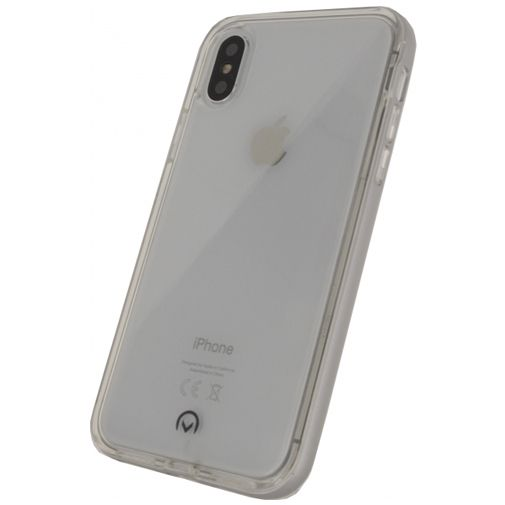 Mobilize Gelly+ Case Clear/Silver Apple iPhone X/XS