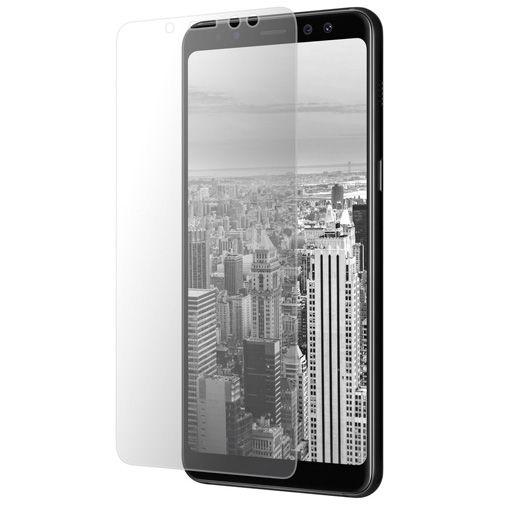 Productafbeelding van de Mobiparts Curved Glass Screenprotector Samsung Galaxy A8 (2018)