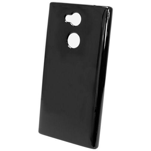 Productafbeelding van de Mobiparts Essential TPU Case Black Sony Xperia L2