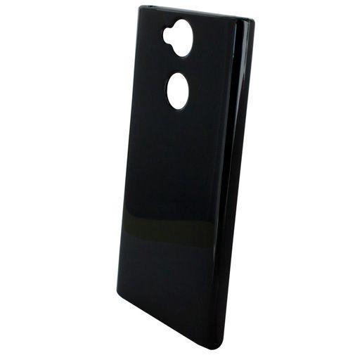 Productafbeelding van de Mobiparts Essential TPU Case Black Sony Xperia XA2