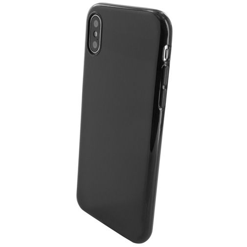 Mobiparts Essential TPU Case Black Apple iPhone X/XS