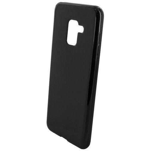 Productafbeelding van de Mobiparts Essential TPU Case Black Galaxy A8 (2018)