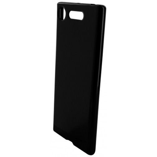 Mobiparts Essential TPU Case Black Sony Xperia XZ1
