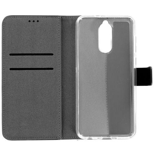 Mobiparts Premium Wallet TPU Case Black Huawei Mate 10 Lite