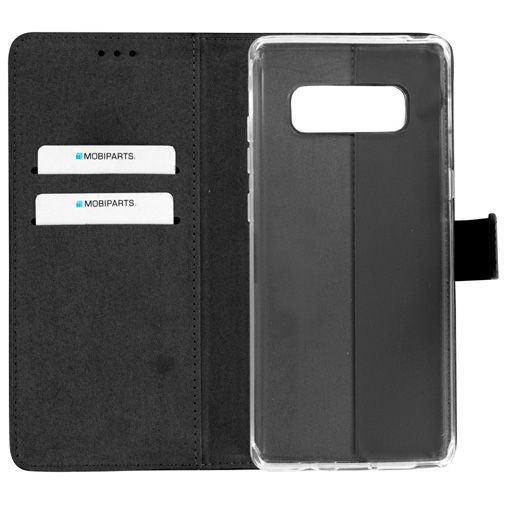 Mobiparts Premium Wallet TPU Case Black Samsung Galaxy Note 8