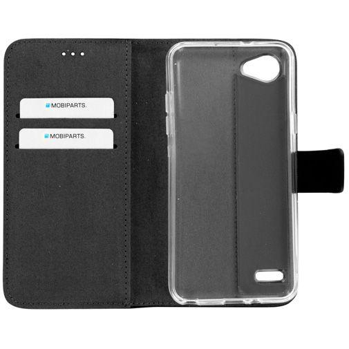 Mobiparts Premium Wallet TPU Case Black LG Q6