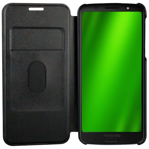 Motorola Flip Cover Black Moto G6