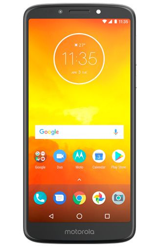Productafbeelding van de Motorola Moto E5 Grey
