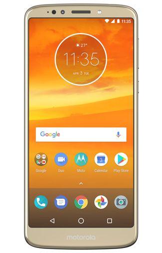 Productafbeelding van de Motorola Moto E5 Plus Gold