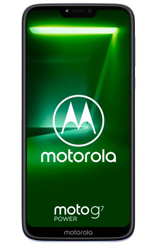 Productafbeelding van de Motorola Moto G7 Power Purple