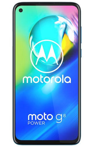 Productafbeelding van de Motorola Moto G8 Power Blue