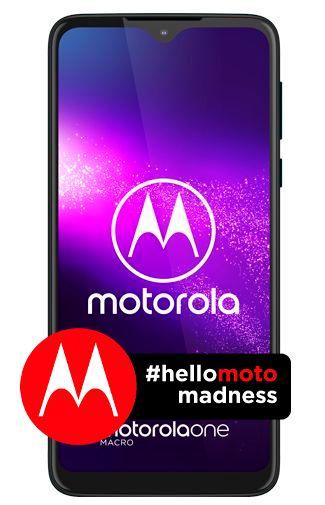 Productafbeelding van de Motorola One Macro