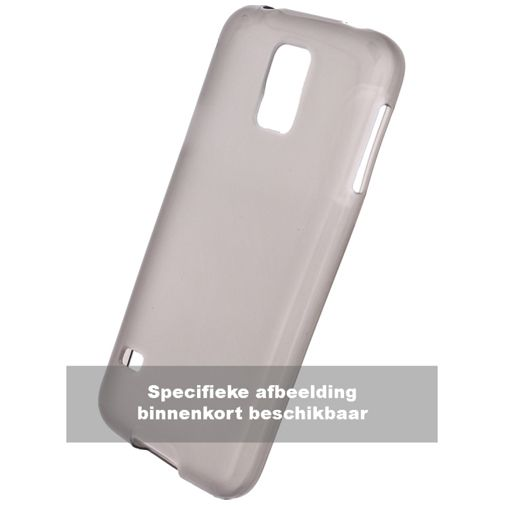 Motorola Silicone Back Cover Grey Moto G5s