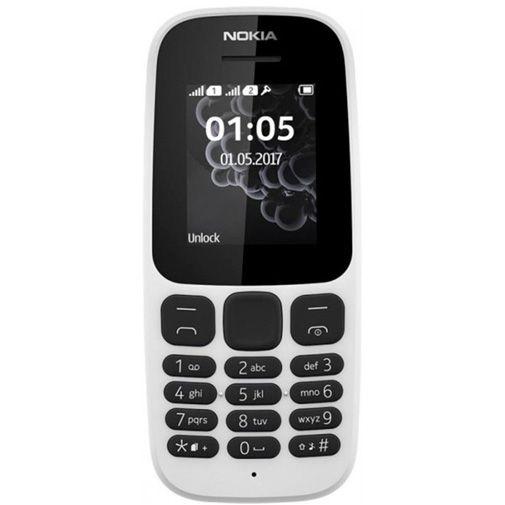 Productafbeelding van de Nokia 105 (2017) Dual Sim White
