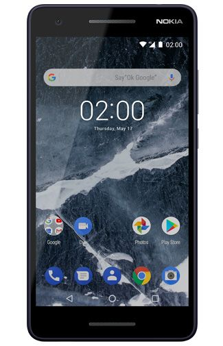Productafbeelding van de Nokia 2.1 Blue Silver