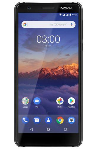 Productafbeelding van de Nokia 3.1 32GB Black