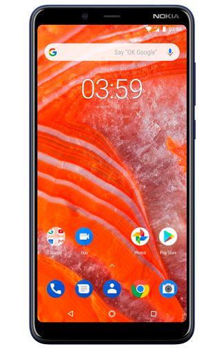 Productafbeelding van de Nokia 3.1 Plus 32GB Blue