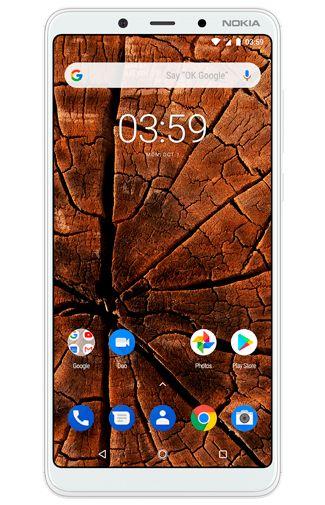 Productafbeelding van de Nokia 3.1 Plus 32GB White