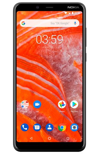 Productafbeelding van de Nokia 3.1 Plus 32GB Black