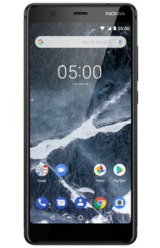 Productafbeelding van de Nokia 5.1 32GB Black