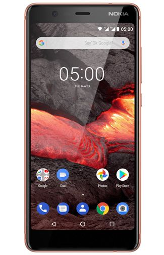 Productafbeelding van de Nokia 5.1 16GB Copper