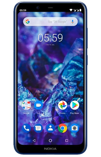 Nokia 5.1 Plus 32GB Blue