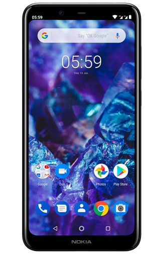 Productafbeelding van de Nokia 5.1 Plus 32GB Black